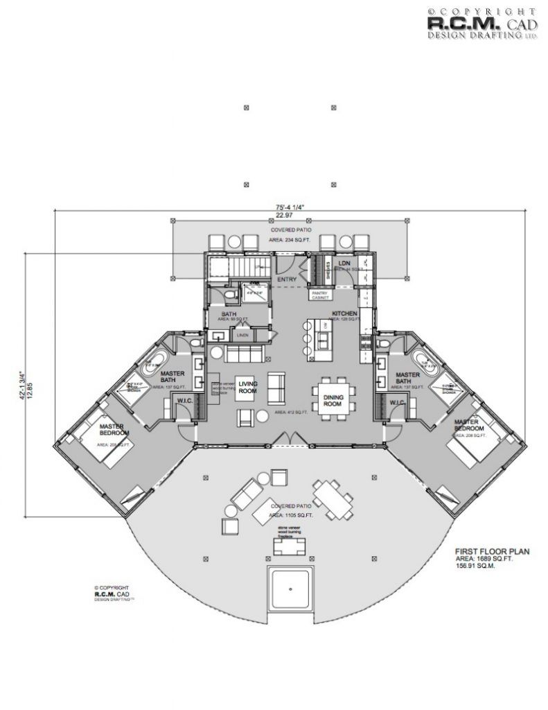 2500 square foot house floor plan