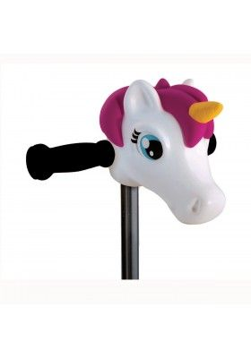 Scootaheadz Pippa poney enfants filles fun Scooter Vélo Guidon pink pony Head