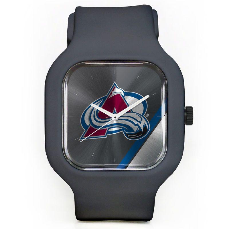 Colorado Avalanche Modify Watches Unisex Silicone Watch - Gray