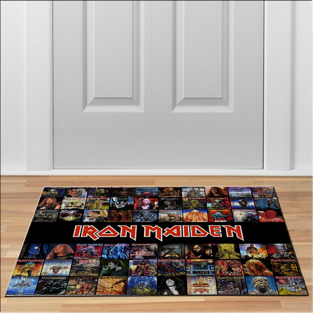 awesome iron maiden compilation albums Doormat Rock Heavy Metal Band ...