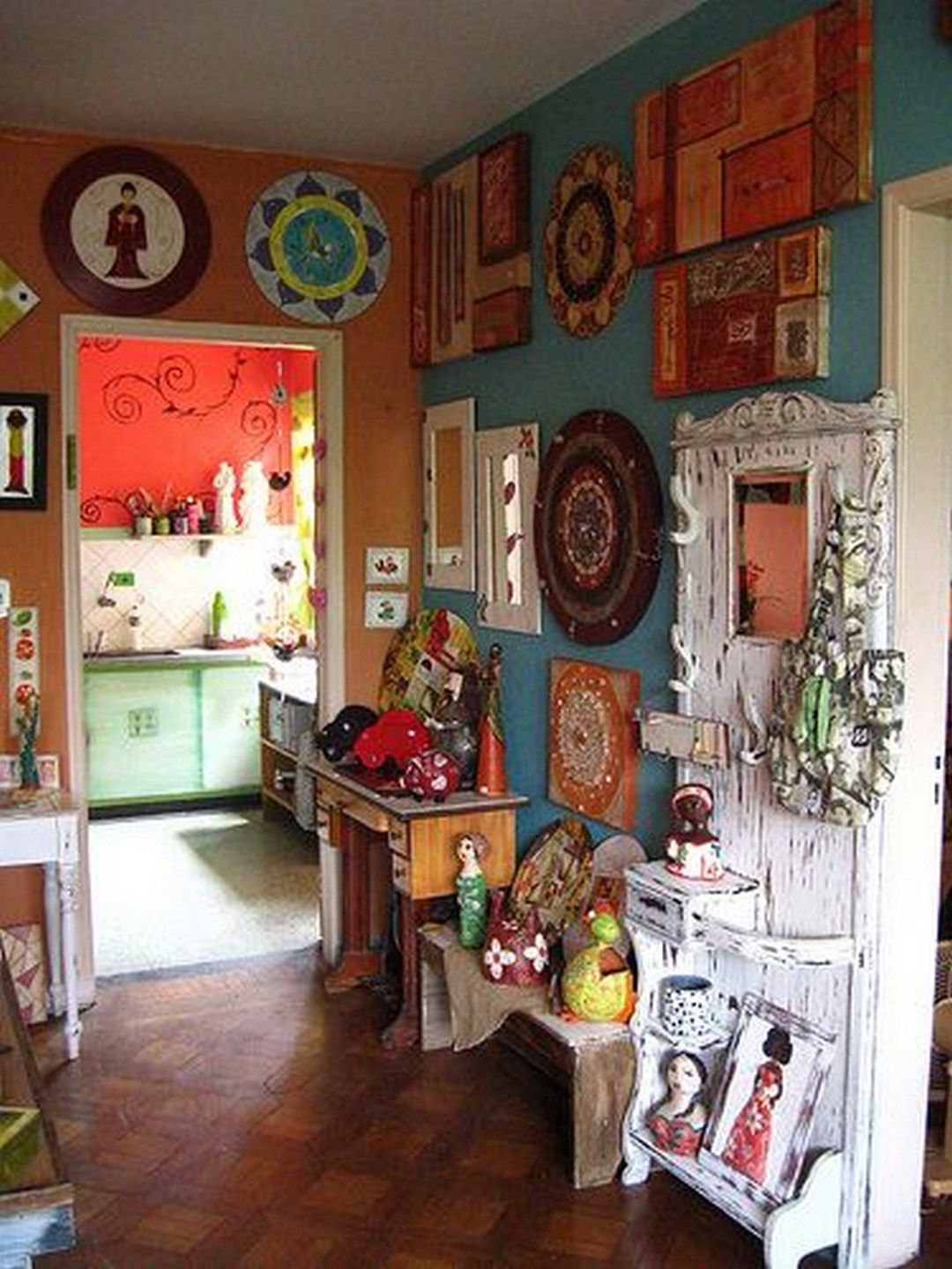 7 top bohemian style decor tips with adorable interior ideas unique home decor bohemian decor on hippie kitchen ideas boho chic id=66701