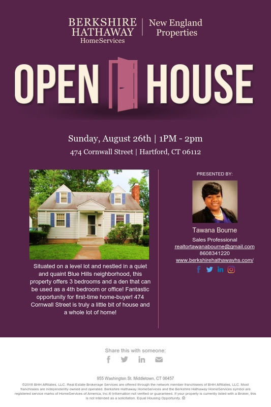 Join Me For An Open House This Sunday August 26th From 1pm 2pm
