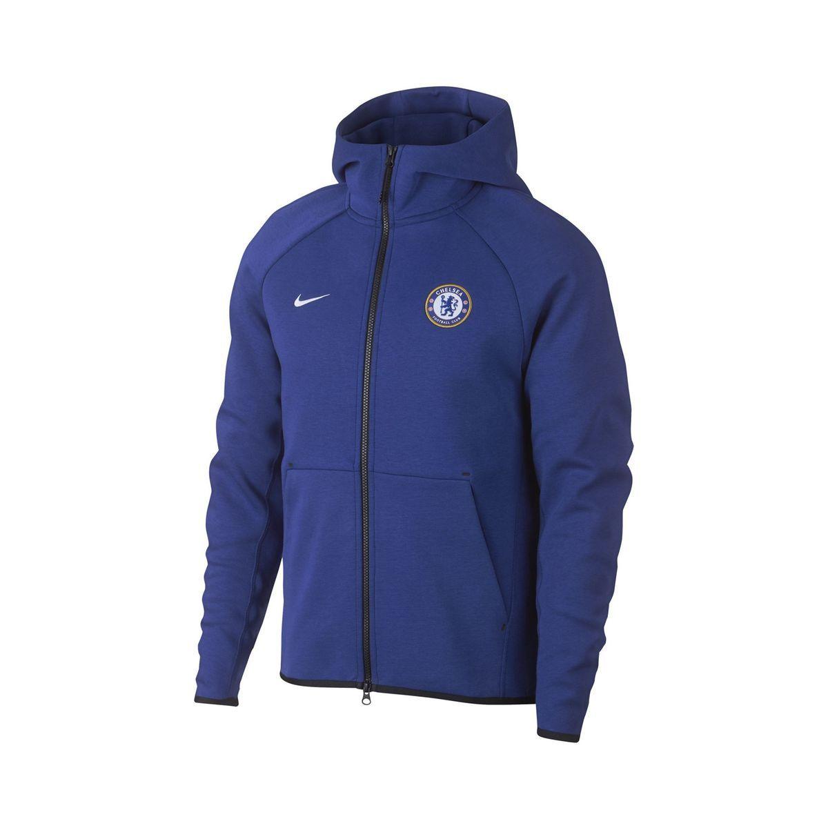 nike fleece bleu