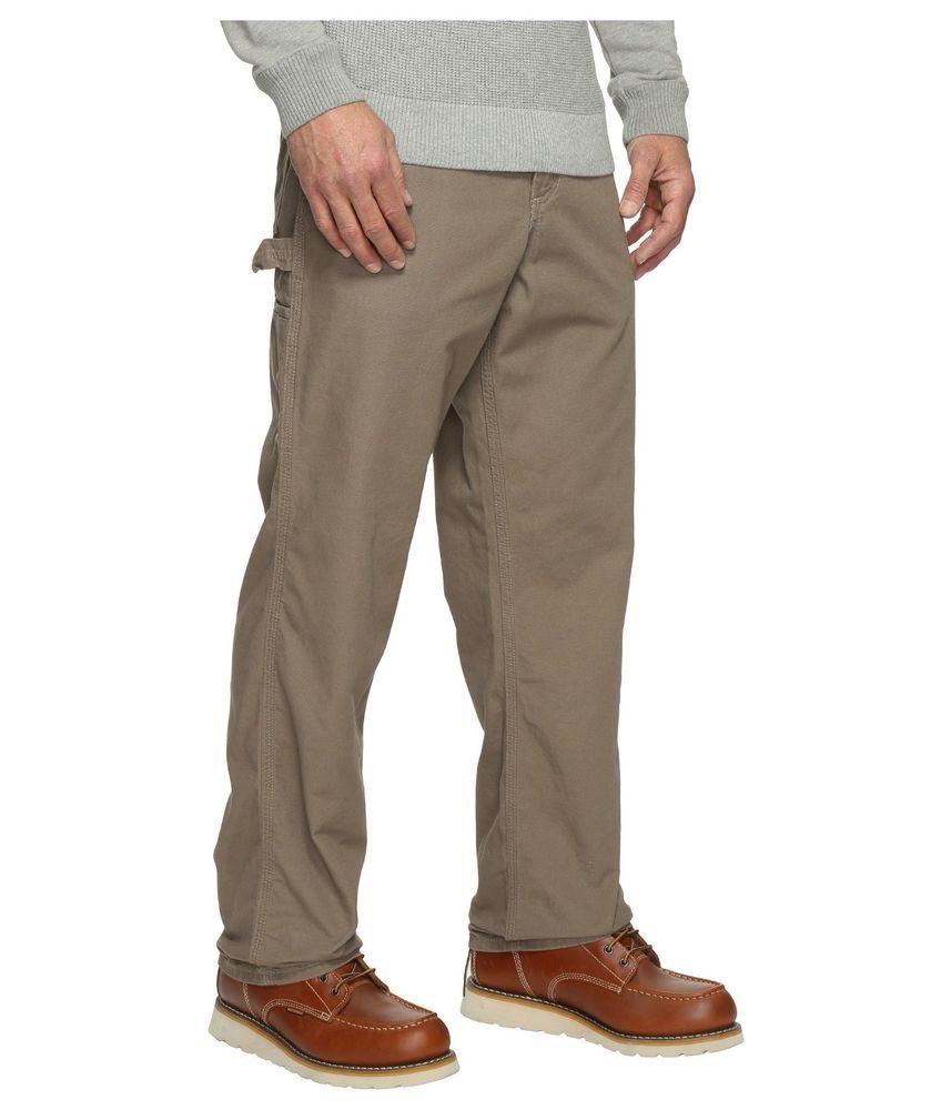 1e5b51d3fa Carhartt Men's Loose Fit Canvas Carpenter Pants B159 100% Cotton Mushroom  32x30 #Carhartt #Cargo