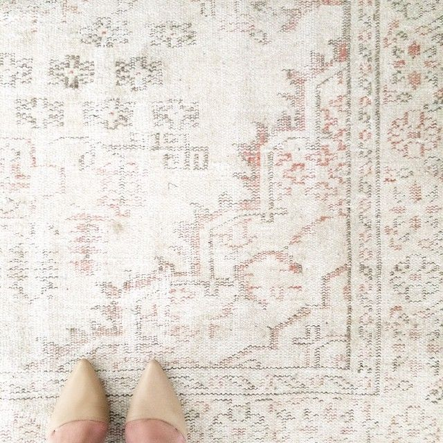 Rugs Home Decor Neutral Overdyed Turkish Rug From Uniquerug On Etsy Heels Read More