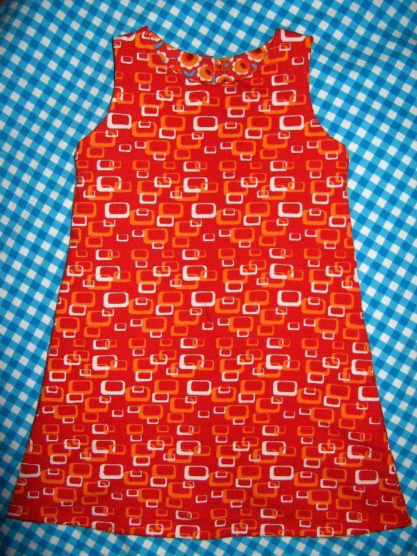 Omkeerbare jurk bio jersey van Not4angels