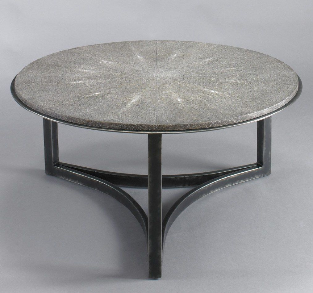 Stunning Shagreen Contemporary coffee table, Furniture