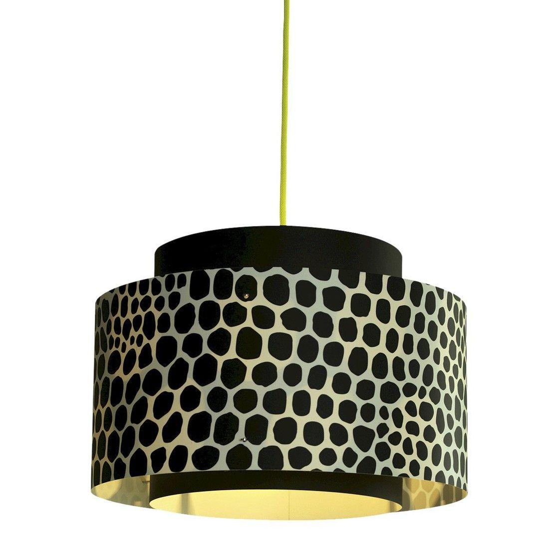 Venlo plugin pendant black with yellow cord homie stuff
