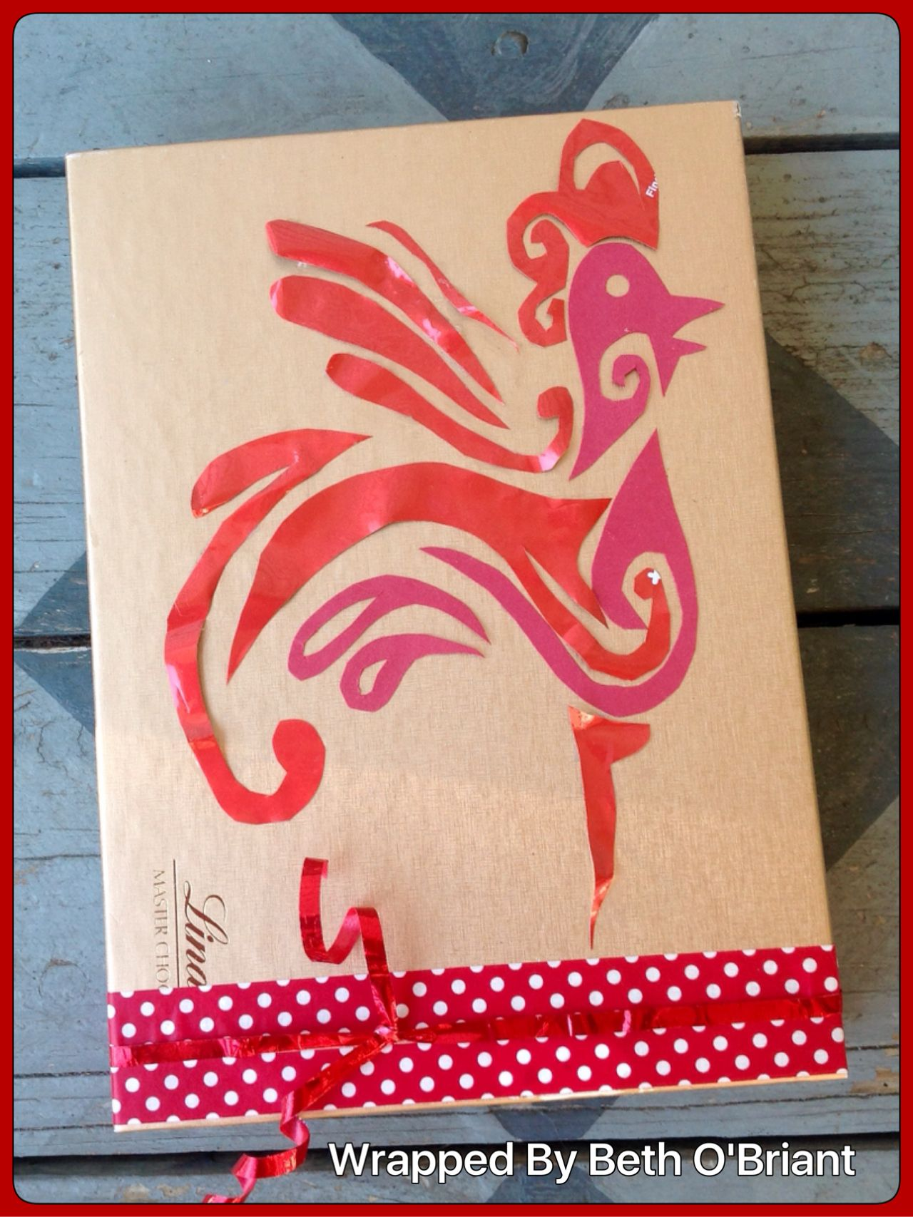 Chinese New Year S Hostess Gift Wrap Gift Wrapping Brown Paper Bag Card Maker