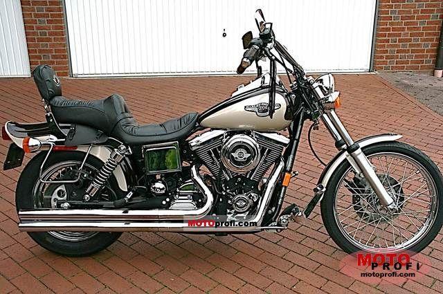 Harley Davidson dyna Glide | Harley-Davidson Dyna Wide Glide 1998 photo