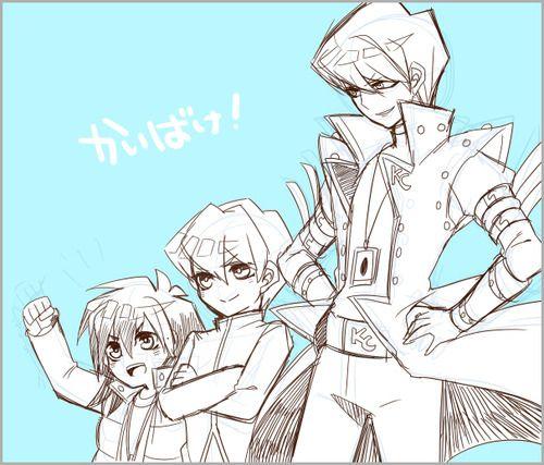 Mokuba, Noah and Seto