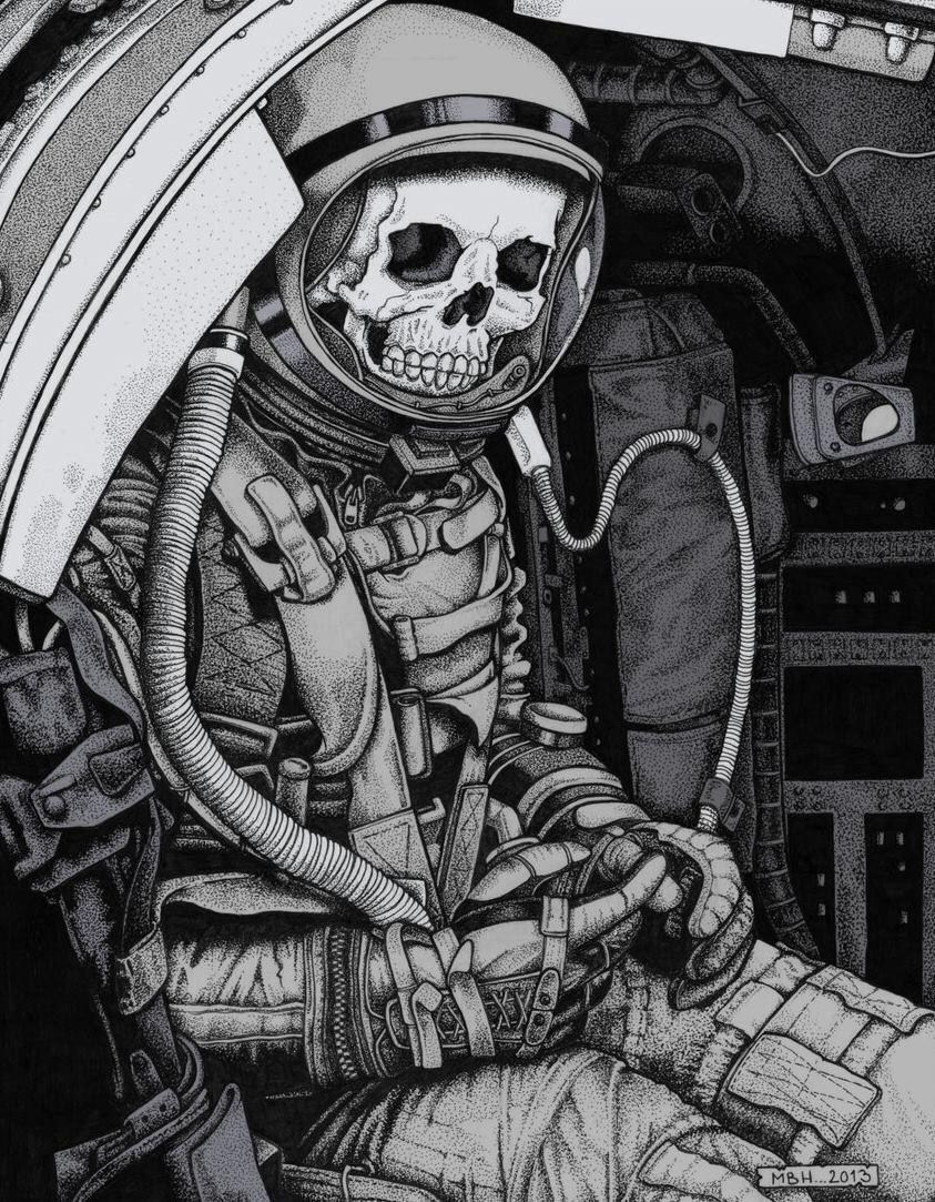 astronaut spaceship drawing - photo #18