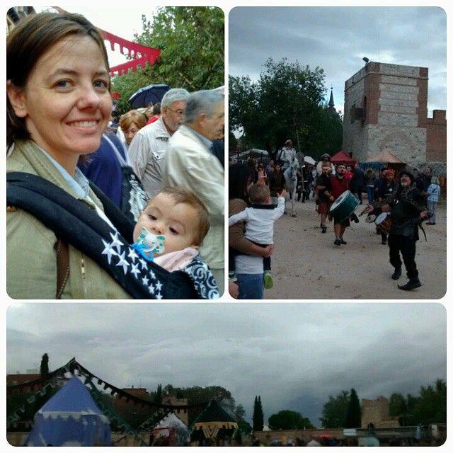 #328 #primerañodem Para q no se nos olvide nuestra vida feirante, hoy de excursión a #alcaladehenares #medieval #365project