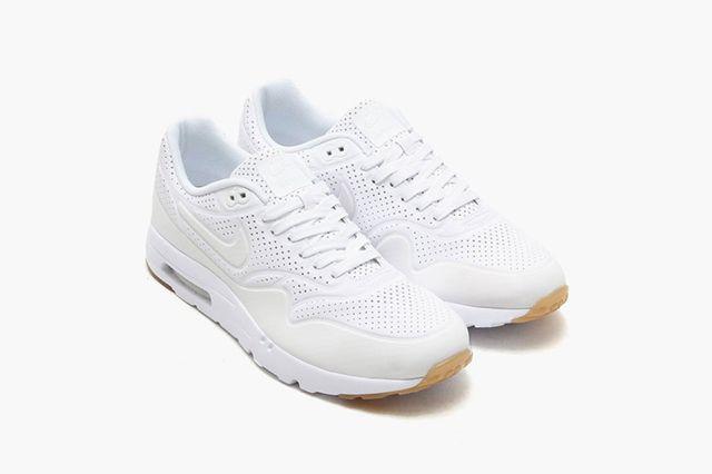 Nike Air Max 1 Cuir Essentielles Pour Femmes Formateurs Couloirs Gris / Blanc faux hyper en ligne sortie 100% garanti photos de réduction yo7VdH5BU