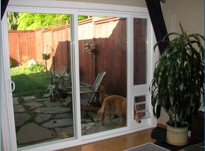Sliding Glass Doggie Door Easy Installation