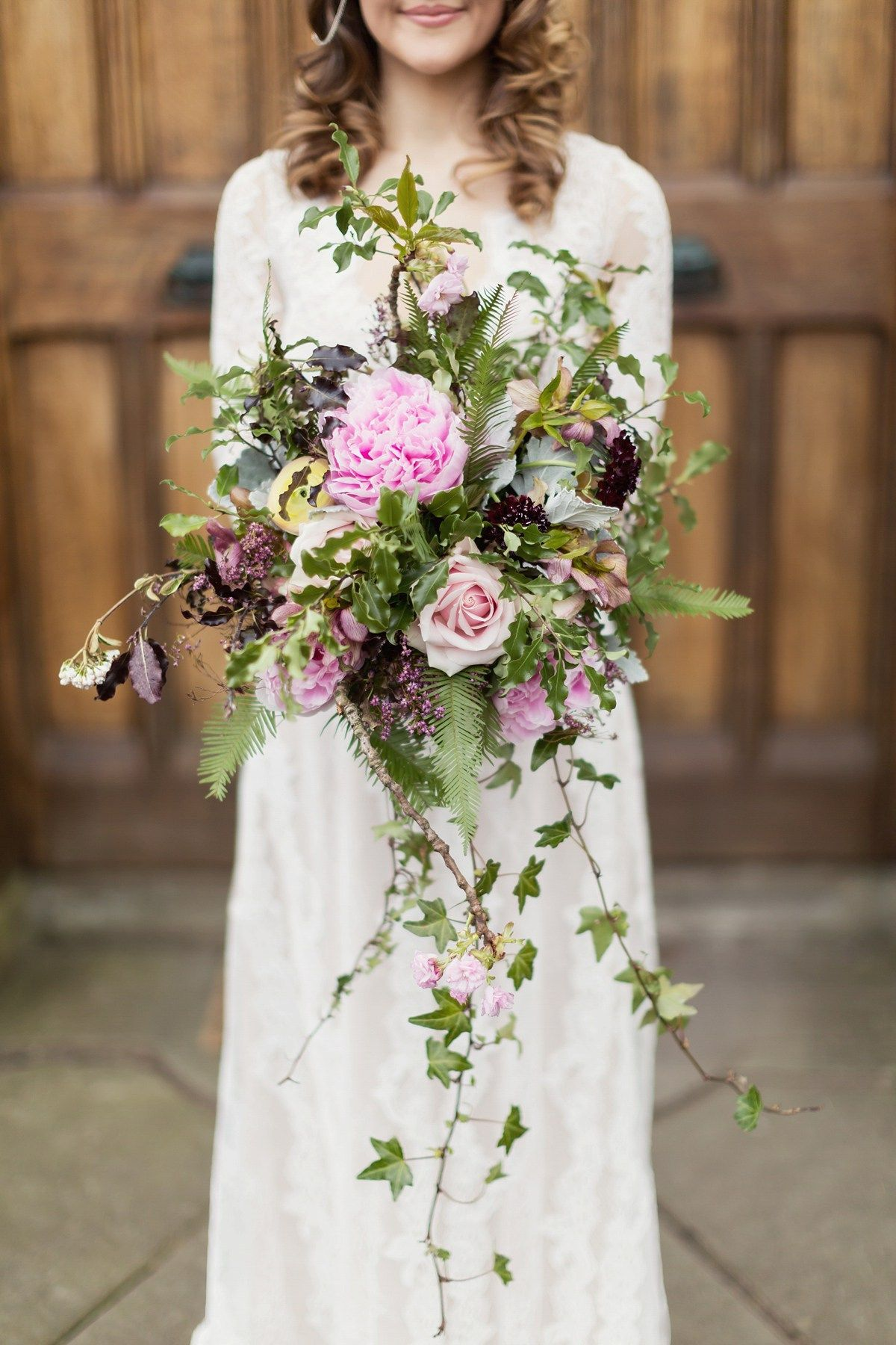 A Scottish Springtime Fairytale Wedding For A Claire Pettibone