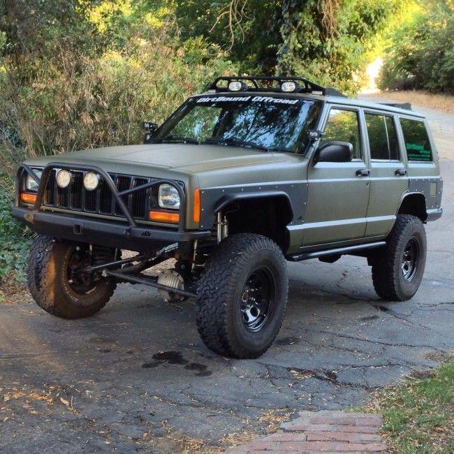 Diy Front Tube Fender Flares Jeep Cherokee Xj Jeep Cherokee Xj Jeep Xj Jeep Cherokee