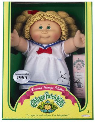 Cabbage Patch Kids Vintage Limited Edition Cabbage Patch Kids Cabbage Patch Kids Dolls Patch Kids