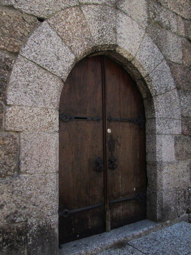 Guimaraes Old Castle Door 2 By Inpbo On Deviantart Castle Doors Doors Castle