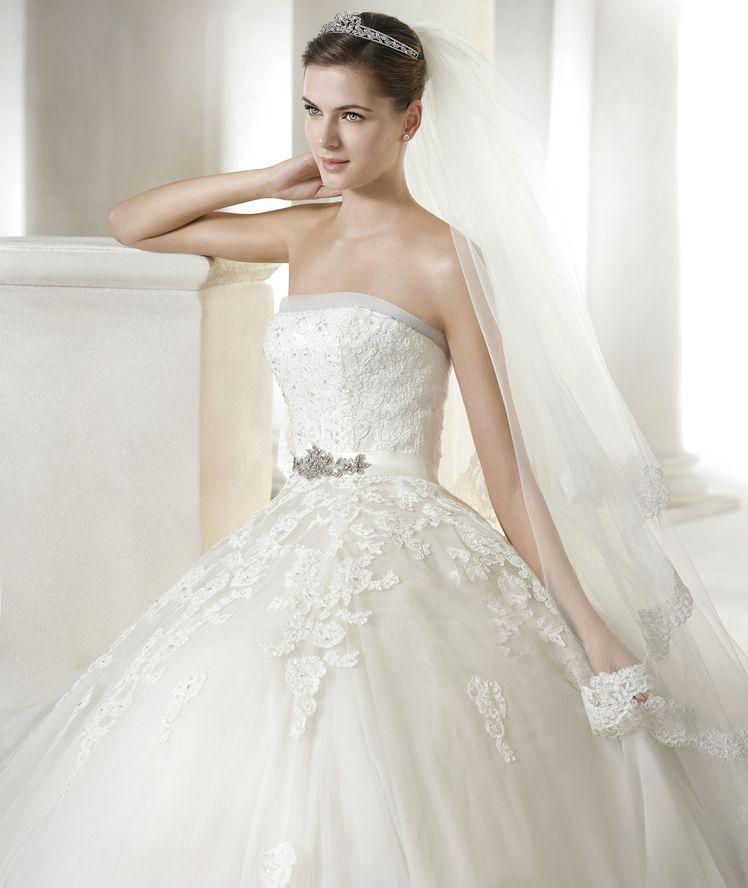 vestido de novia modelo argelia | vestidos de novia modelos | pinterest