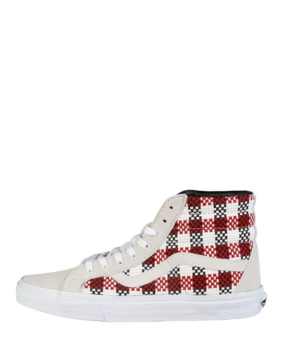 Sneaker unisex  VANS SK8-HI Bianco - Primavera Estate - titalola.com