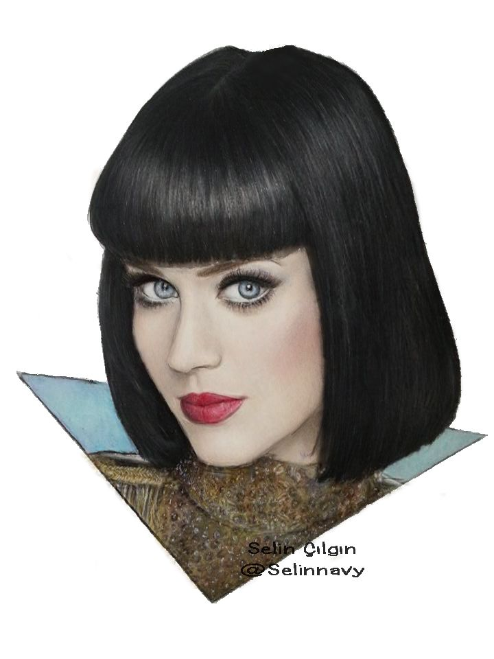 katy perry drawing by selinc on deviantart desenhos pinterest