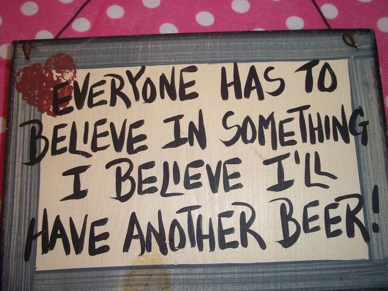 Believe Signs Decor Wood Sign Wall Decor I Believe Ill Have Another Beer Man Cave Decor