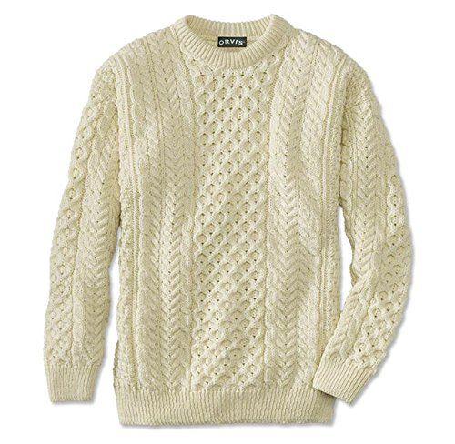 Orvis Men's Black Sheep Irish Fisherman's Sweater / Black Sheep Irish Fisherman's Sweater - http://www.darrenblogs.com/2017/01/orvis-mens-black-sheep-irish-fishermans-sweater-black-sheep-irish-fishermans-sweater/