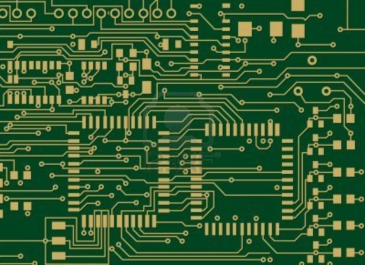 Circuit Board Vector File Change The Colors As You Like Stock Hobby Photo