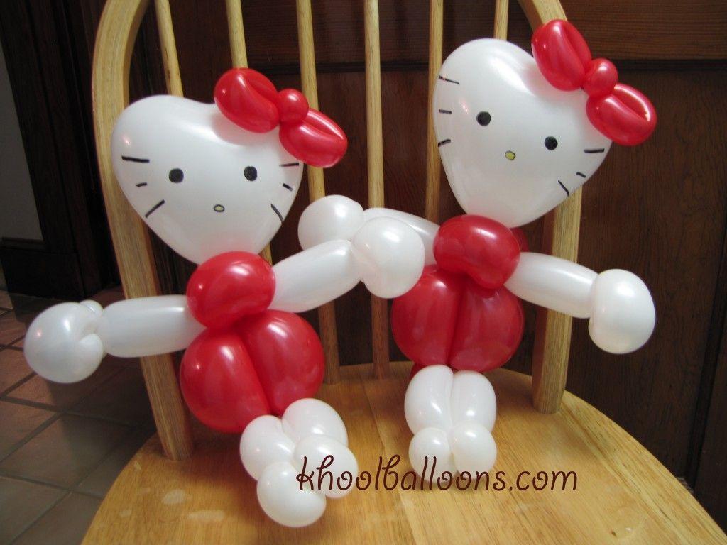hello kitty balloon making Google Search Birthday Party Ideas