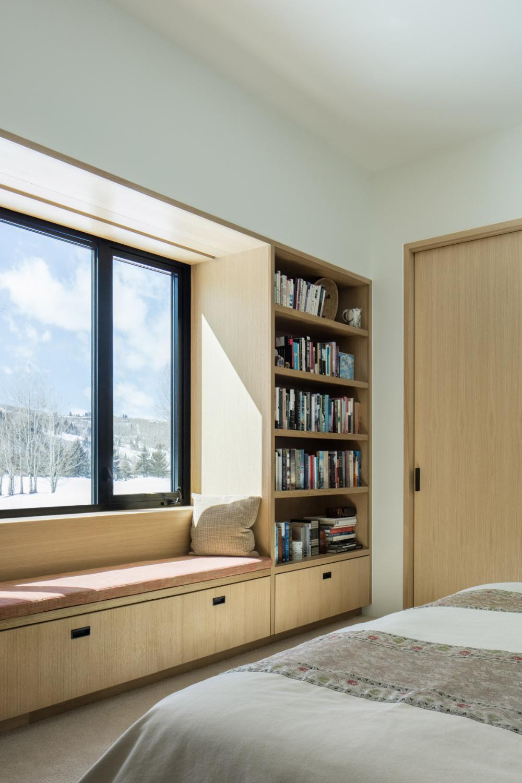 Studio B S V Plan House In Aspen Comprises Black Gabled Forms
