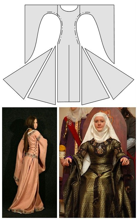 DIY Medieval Dresses from Medieval Wedding Dresses. The above ...