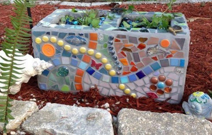 Comment Organiser Votre Jardin Avec De Simples Blocs De Beton