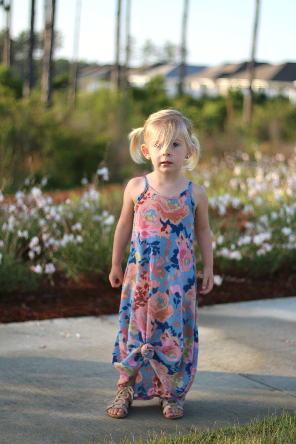 Charming Warm Weather Vintage Inspired Frocks Featuring: Free Falling PDF Pattern Girls 2T-14yrs
