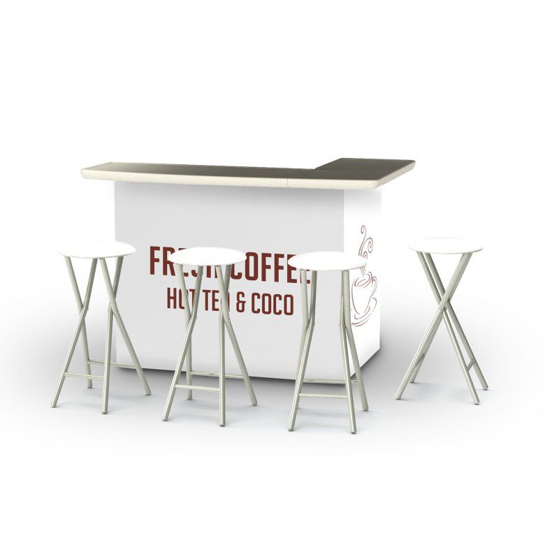 Best of Times 5 Piece Portable Outdoor Bar Set - 2002W2509