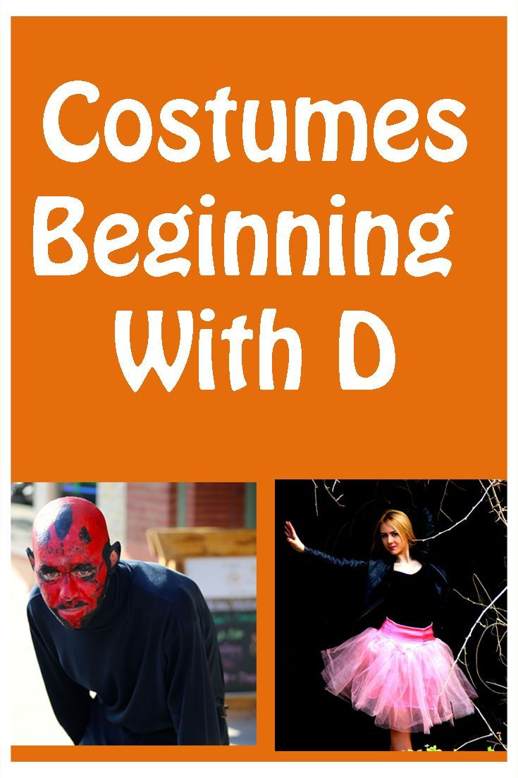 Cool costume ideas beginning with the letter D  sc 1 st  Pinterest : costume ideas beginning with c  - Germanpascual.Com