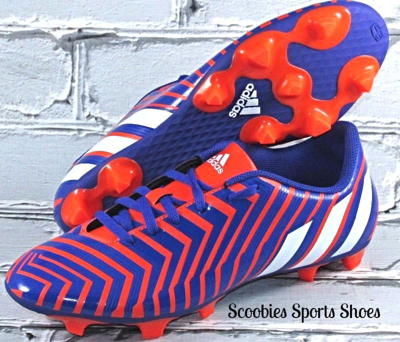 5f443ff1cda Adidas Predito Instinct FG Soccer Cleats Sizes 8   11 Orange Blue  Adidas