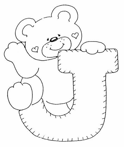 alfabeto de oso | Alfabetos | Pinterest | Abecedario, Alfabeto y Letras