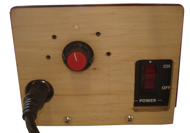 Franklin Phonetic School- The new limiter installed on the burnmaster.  New Project Ideas - Woodworking - Woodworking Teachers