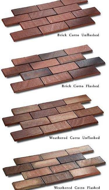 Prod Cotto Colors Seneca Cotto Weathered Cotto Unflashed