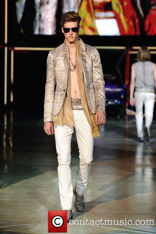 #MilanFashionWeek Menswear Spring/Summer 2015 collection, Roberto Cavalli Catwalk #Fashion