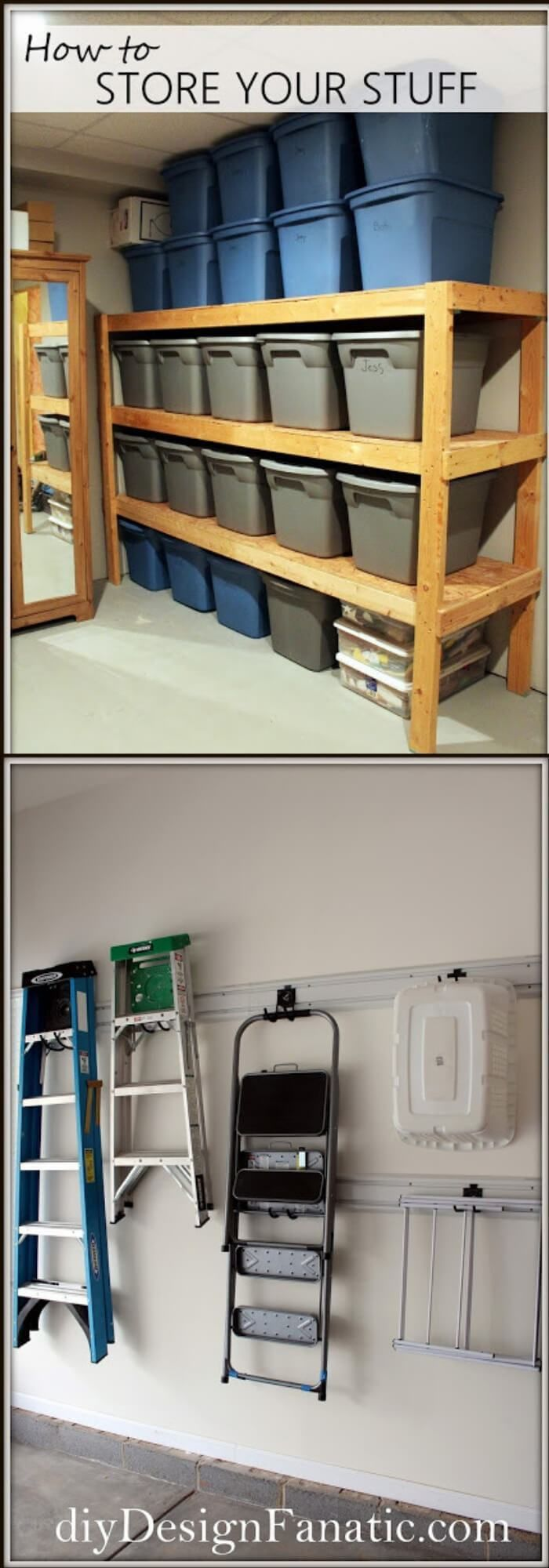 19+ Best DIY Garage Storage Ideas For 2019 - FarmFoodFamily images