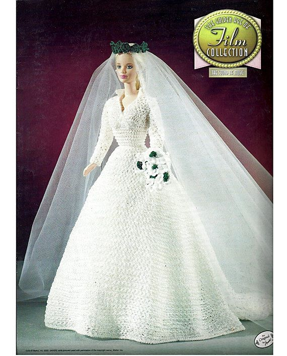 annie's attic golden age of film collection | ... Golden age of Film Collection Fashion Doll Crochet Pattern Annies