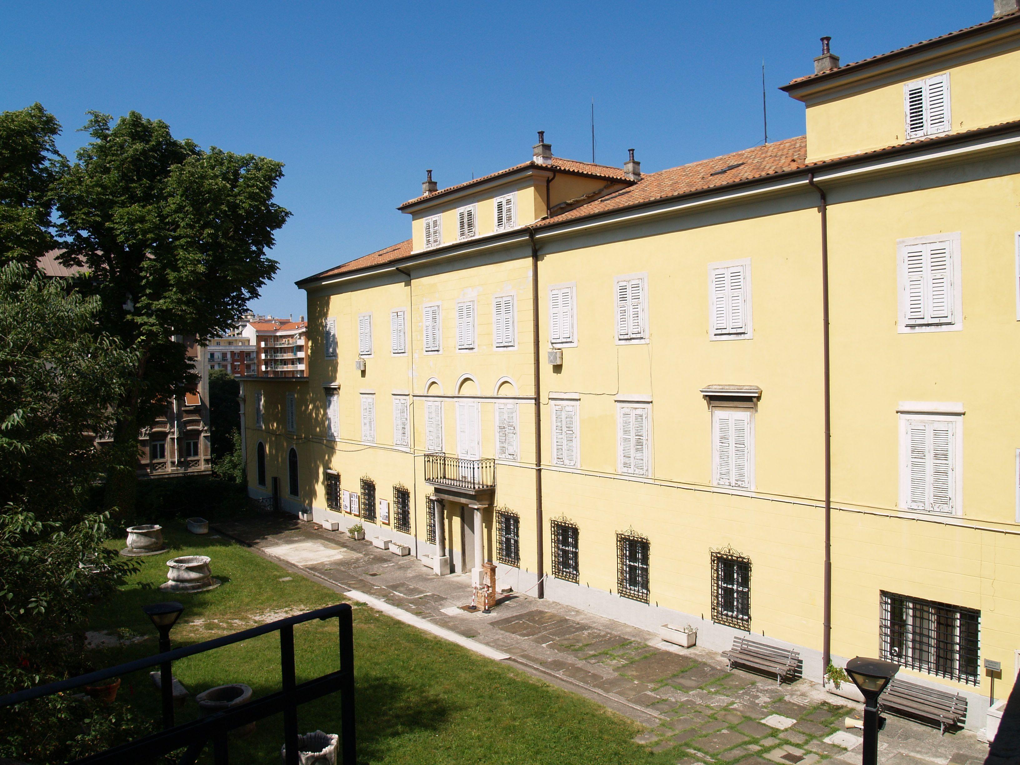 orto lapidario di trieste Itinerario Medievale Trieste
