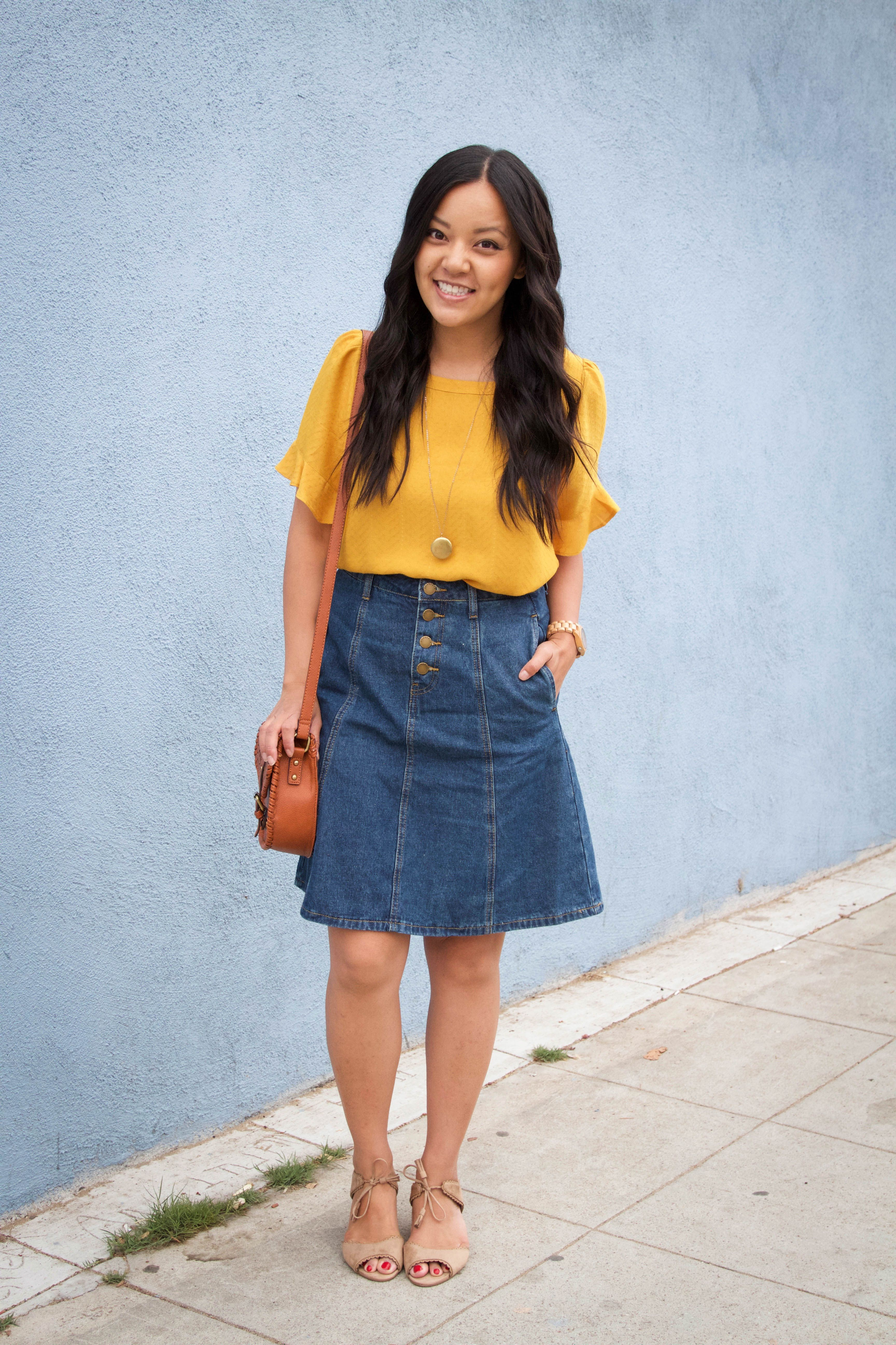 1c89432fa How to Style Skirts: Four Tips to Make it Really Easy | PMT Outfits ...