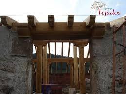 Resultado de imagen para tejado de hormigon con alero de for Tejado de madera o hormigon