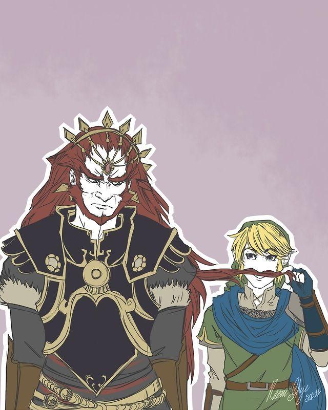 Ganondorf And Link Hyrule Warrior Hyrule Warriors Legend