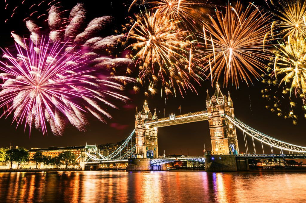 Fireworks in London, Britain | 6 of the Best Cities to Celebrate New Year's Eve in Europe