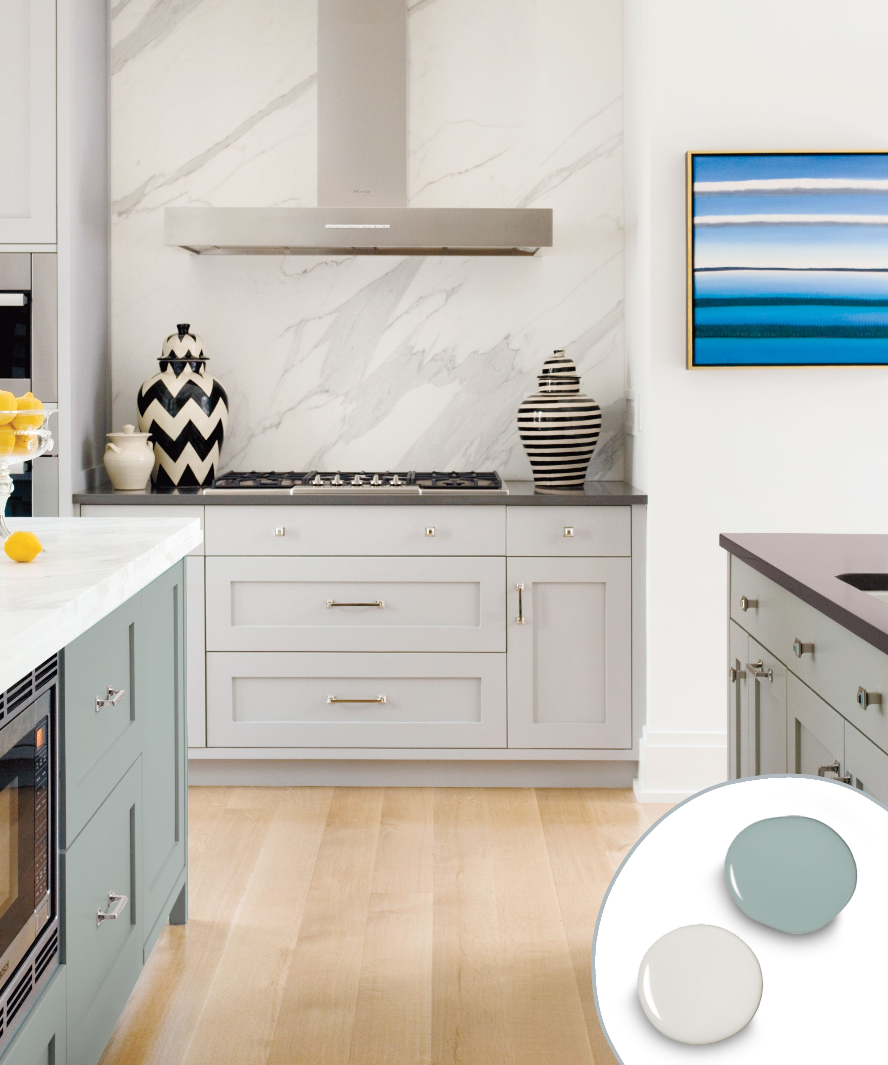 12 Kitchen Cabinet Color Combos That Really Cook Kitchen Cabinet Colors Kitchen Cabinets Color Combination Kitchen Color Combos