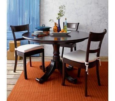 Crate Barrel Kipling Pedestal Dining Table Home Kitchen